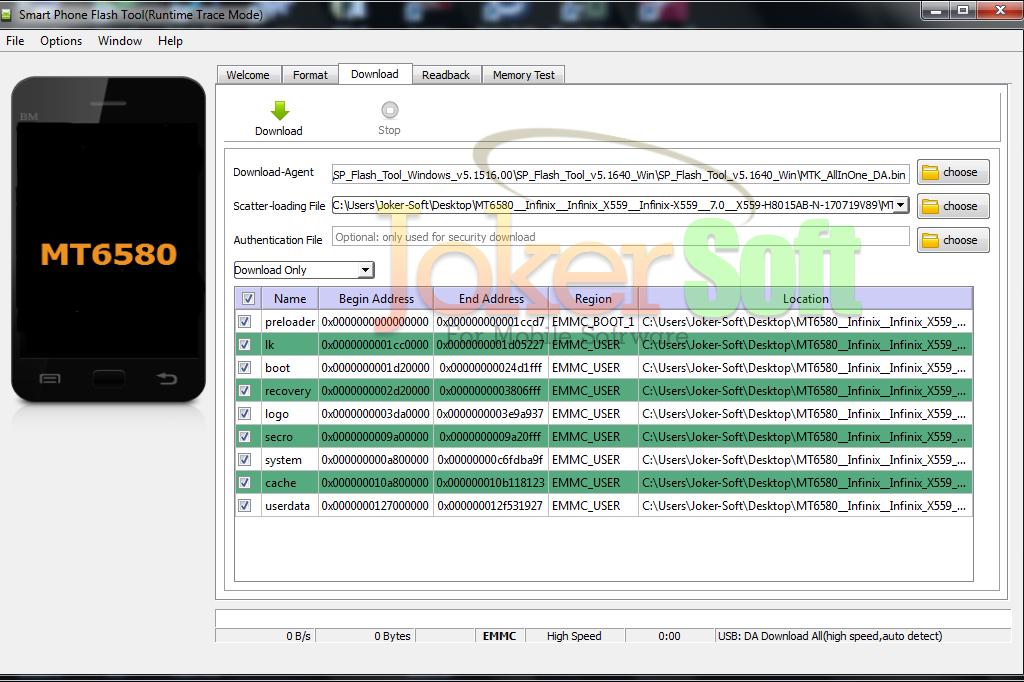 الروم العربى المسحوب لهاتف Infinix Hot 5 Lite X559 باصدار