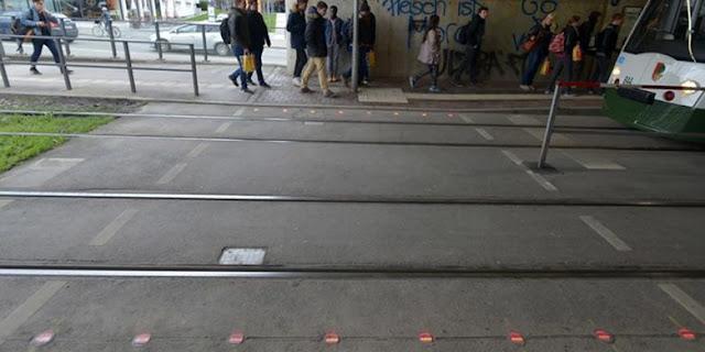 Lampu Lalu Lintas Khusus Pengguna Ponsel di Jerman - Blog Mas Hendra