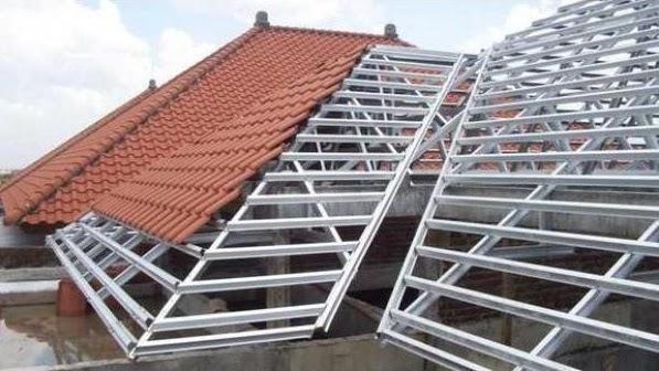 jasa harian pasang atap baja ringan surabaya