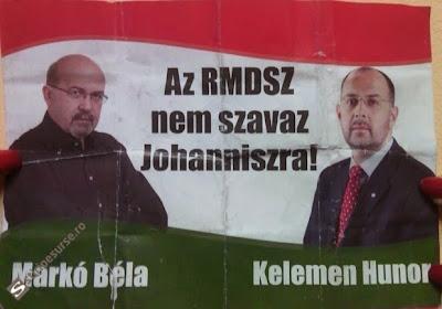 RMDSZ, államelnök-választások, Románia, Székelyföld, politika, Klaus Johannis, Victor Ponta,