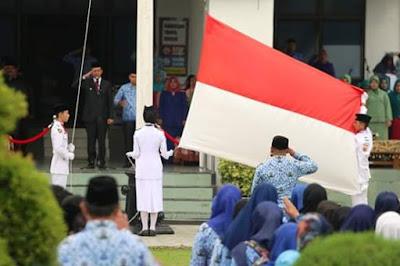 Hardiknas dan Harkitnas Ke 111 di Kota Pariaman, Wako Genius Umar Bacakan Sambutan Mendiknas Muhajjir Efendi