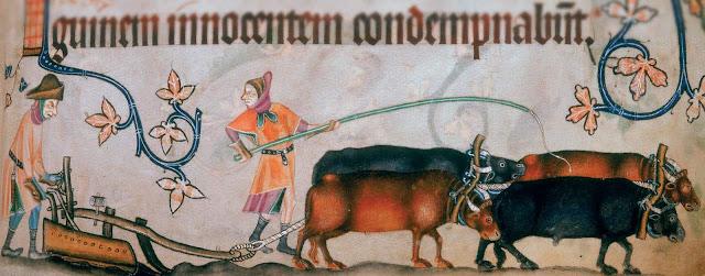 La agricultura en la economia de la Edad Media