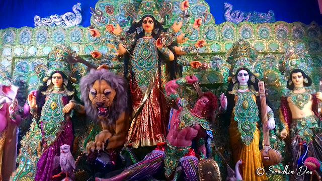 Durga Puja 2018 Atlas Club Bidhan Sarani Durga Idol