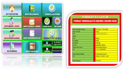 Aplikasi Kesiswaan Administrasi Sekolah Dengan Format Lengkap