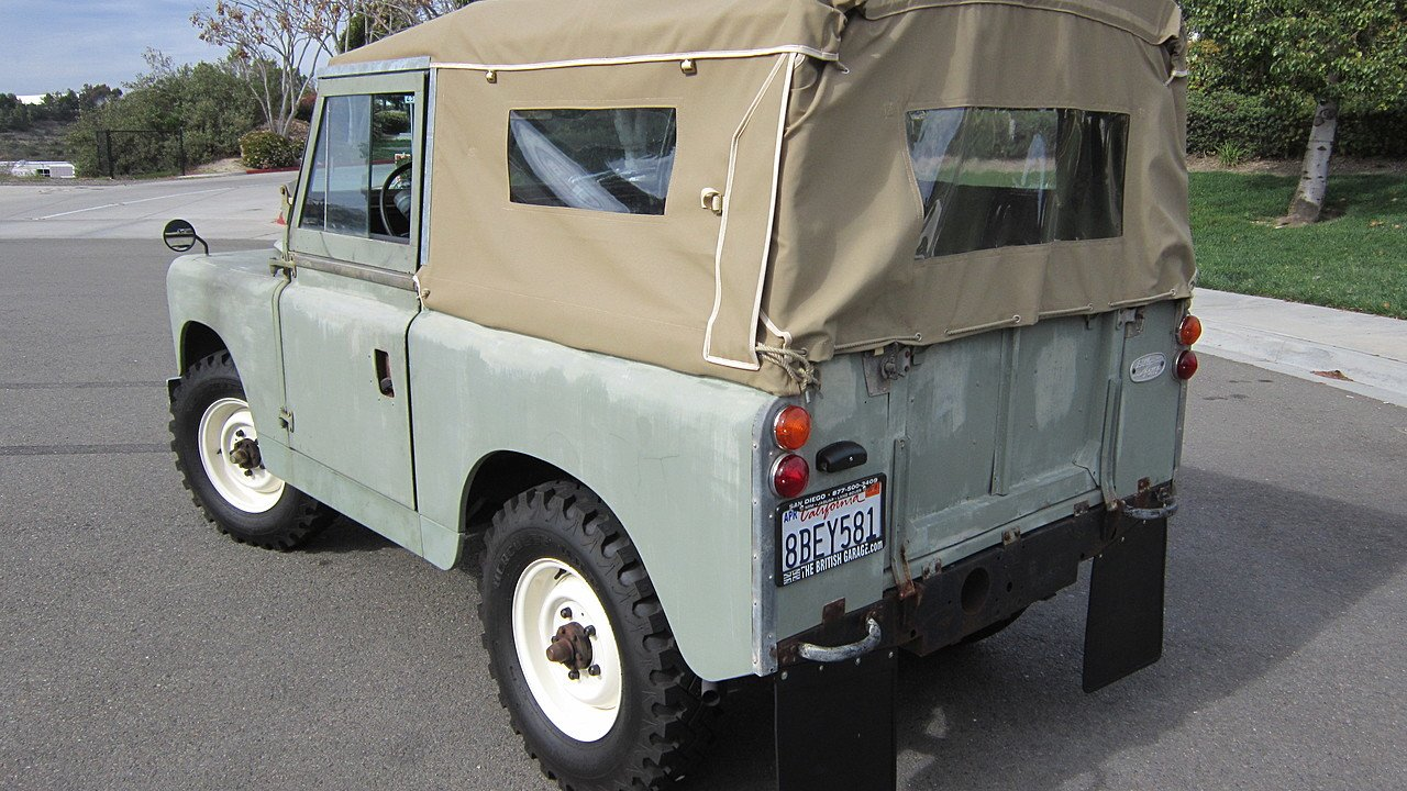 Daily Turismo Secret Car Clubber 1965 Land Rover Series Ii 1985 Merkur Wiring Harness Reduced To Us 28000 Obo 15000