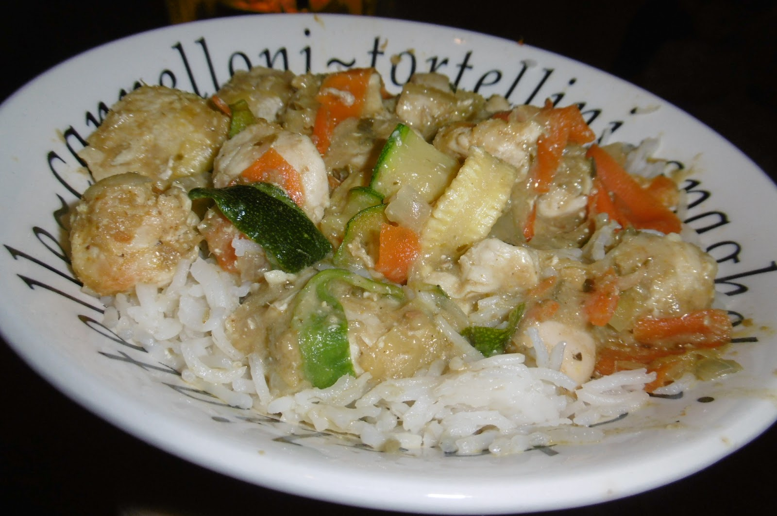 Kitchenclearout Recipe Green Thai Curry Stir Fry
