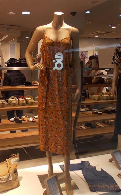 Vestido vitrine shopping Punta del leste