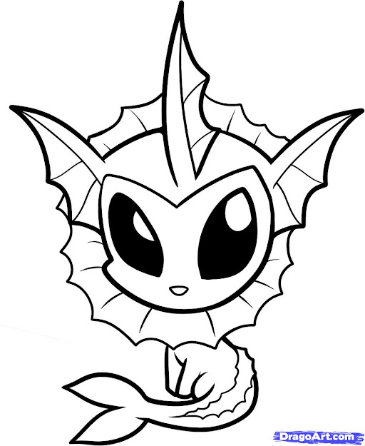 Good Looking Baby Pokemon Coloring Pages  Pics Of Dolphin Coloring Pages  Dragoart Heart Drawing In