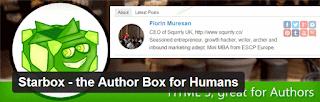 starbox - плагин wordpress информация об авторе