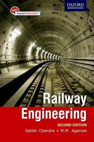 Download Railway engineering by Satish Chandra & MM Agrawal Book Pdf