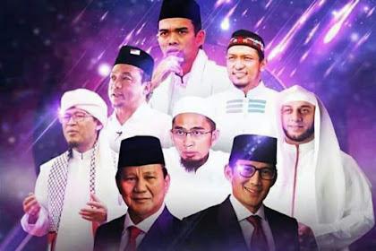 Profil Ulama yang Mendukung Capres dan Wapres Prabowo dan Sandi