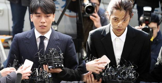 Según Chosun, Seungri se negó a entregar su teléfono, mientras que Jung Joon Young entregó uno nuevo