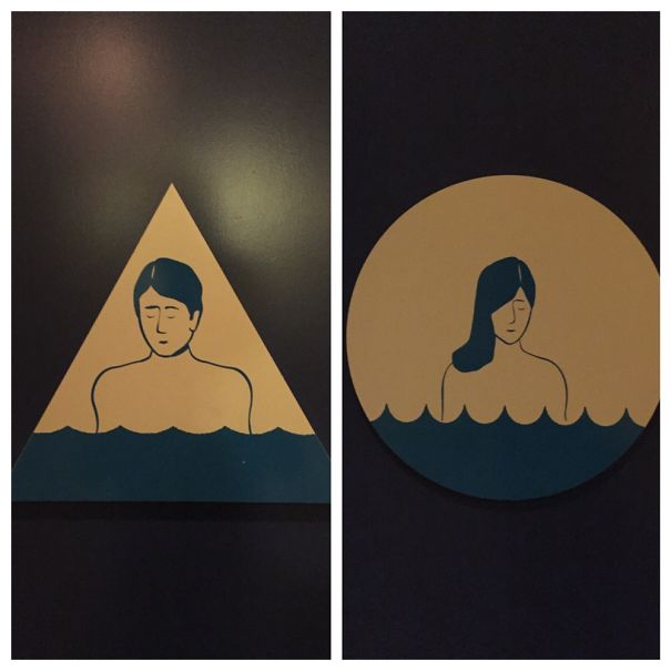20+ Of The Most Creative Bathroom Signs Ever - Sam's Social Club - Sonoma, Ca