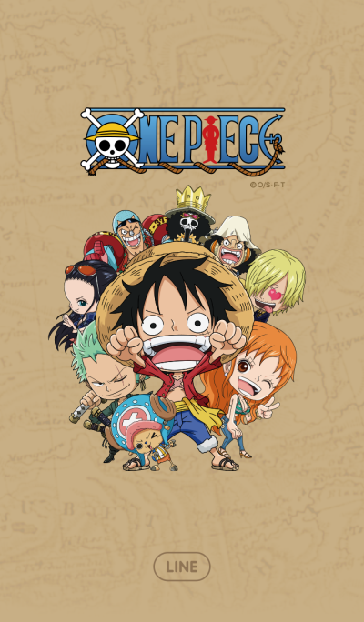 ONE PIECE Straw Hat Crew