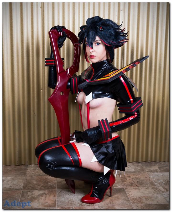 sexy cosplay ryuko mataoi kill la kill tenleid