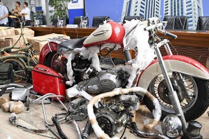 Duh, Ada yang Pasang Badan Selundupkan Harley di Pesawat Garuda!