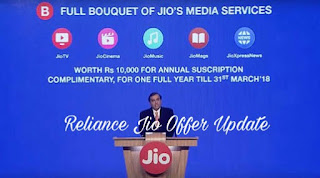 "As we know that Few Minutes Ago Sir. Mukesh Ambani was Live and Announced  Jio Prime Membership Offer  And by this Jio Prime Membership will be Valid for All Existing users of Jio as well as for New Users Of Jio.And for Registering with ""Jio Prime Membership Offer"" You have To Pay Rs.99 between 1st March 2017 to 31st March 2017.You can Pay this Rs.99 by MyJio App,Jio.com Website or by going to Reliance Jio Store. And After paying Rs.99 You will be eligible for this Offer for 1year till 31st March 2018 by Paying Rs.303 Per Month.  In return of Paying Rs.99(Registration)+ Rs.303 Per Month You will get data with 4G Speed till 1GB daily and after 1GB your data speed will be 128kbps & Unlimited Calling And for there You have to Pay Only Rs.303 Per Month. And this offer will be  valid for all existing Users of Jio and All new Jio users who join before 31st March 2017.    So finally we are getting benifited by This Jio offer and we have to Pay Only Rs.303 in a Month and in Return we are getting Data same as Jio Happy New Offer for example    Data - 1GB data daily with 4G Speed after 1GB 128kbps. Calls- Unlimited Calling.  So finally in a 30 Days we are getting 30GB Data with 4G Speed and Unlimited Calling.  So finally pay the registration Amount of Rs.99 and be the eligible for  JIO PRIME MEMBERSHIP OFFER .    Thanks for reading this post . Stay tuned with TezTricks.com for More Updates .  You may Like our Facebook page fb.com/TezTricks for more updates .  For Getting Loot Updates directly in Your Whatsapp.Message Us SUB_YourName To @8271934264.  And If You have Any Quiry Then  feel free To Comment Below.. Thank you for being our regular visitor, stay tuned with TEZ Tricks for more loots & offers."