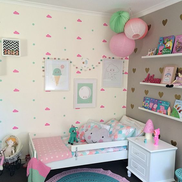 quarto infantil para menina