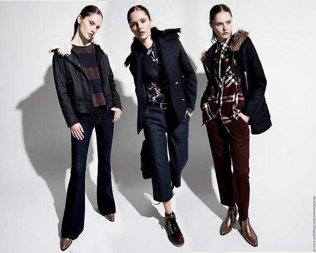 Moda otoño invierno 2016 Desiderata colección ropa de mujer. Moda invierno 2016.