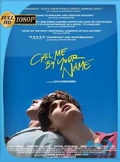Llámame por tu nombre (2017) HD [1080p] Latino [GoogleDrive] SilvestreHD