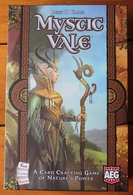 Cardboard - Mystic Vale card game review