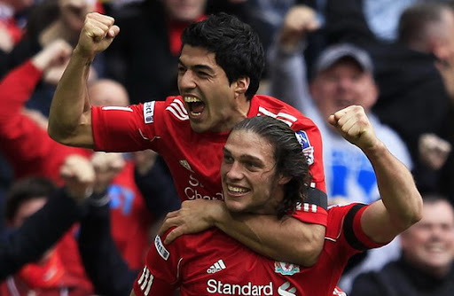 The Hair Gel Effect: Andy Carroll scores Liverpool's winner against Everton
