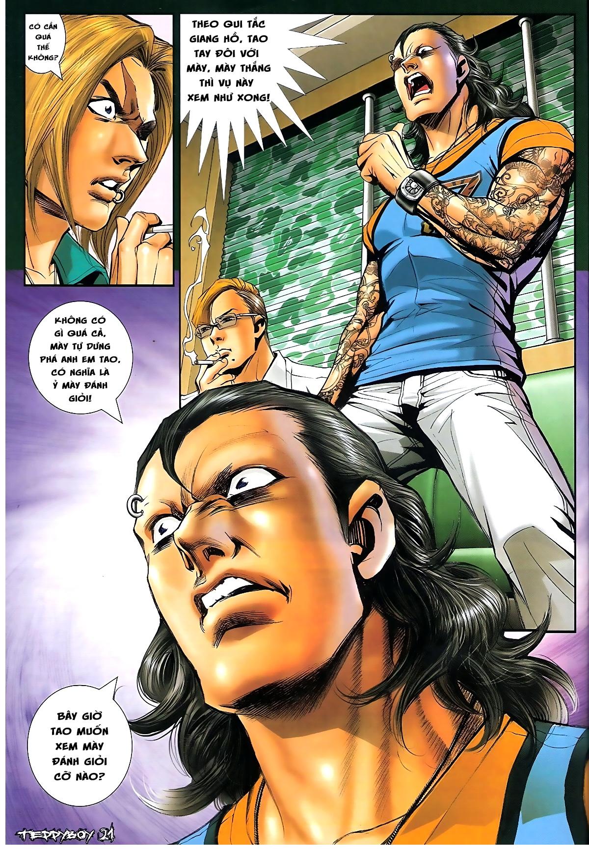 Người Trong Giang Hồ - Chapter 1331: Chạm trán - Pic 17