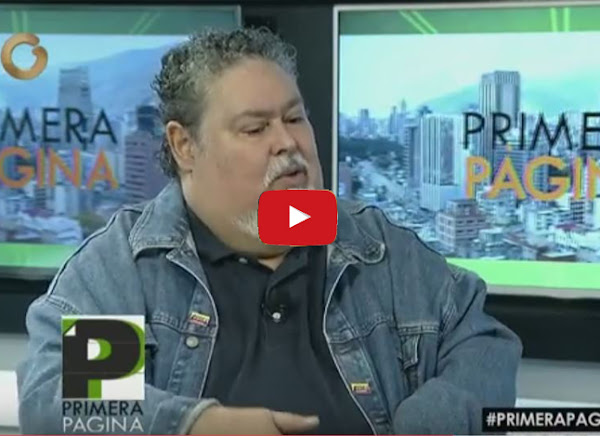 Juan Barreto aquí no habla bien de los Carnets de la Patria