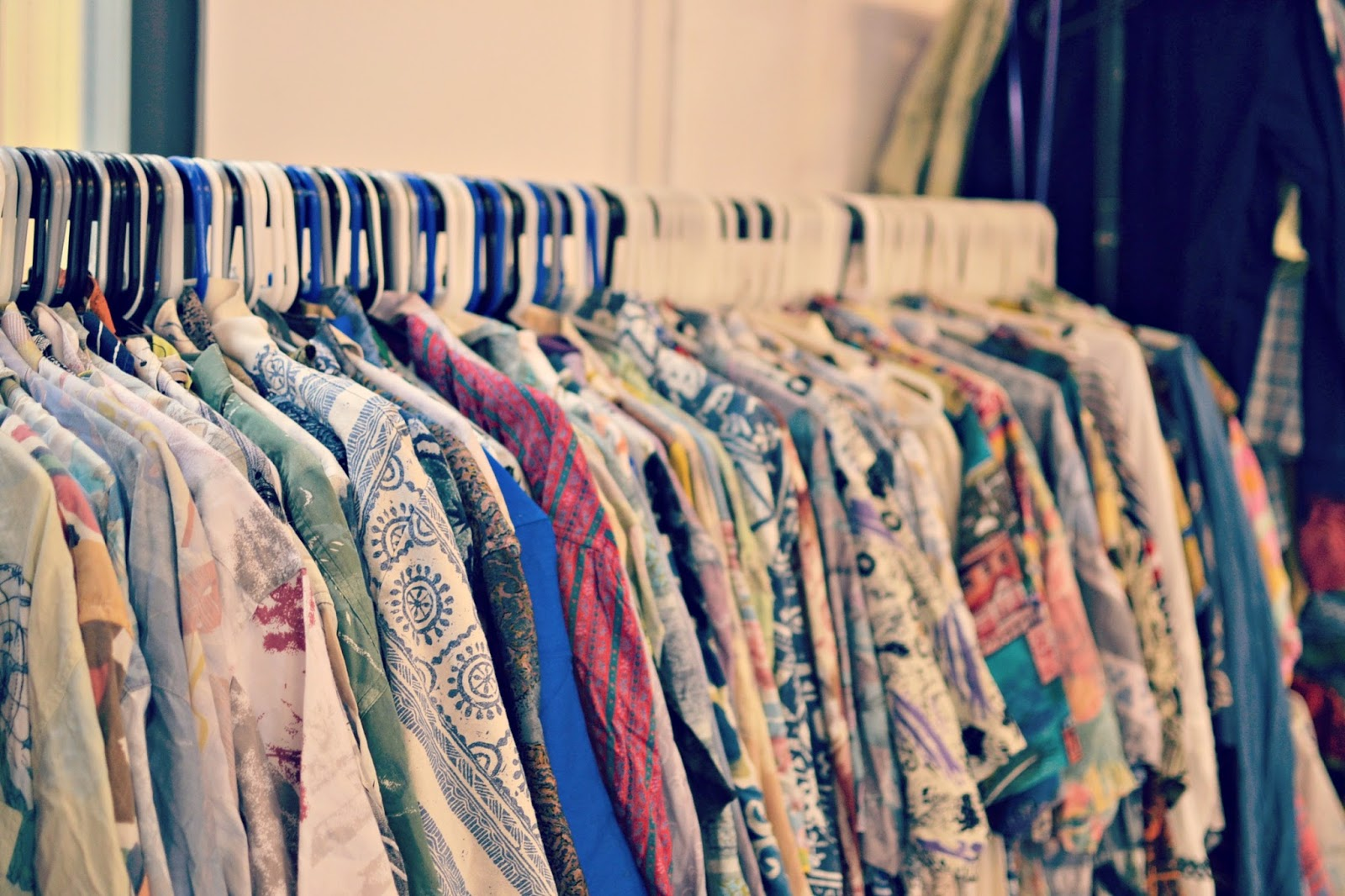 Vintage Kilo Sale, silk shirts