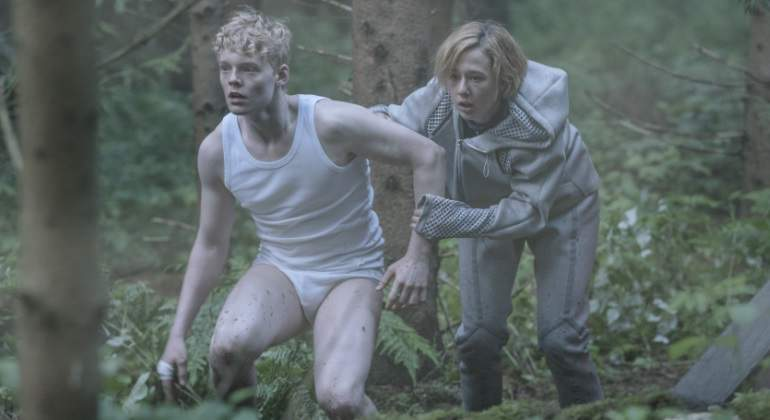 Los hermanos Simone y Rasmus en The Rain