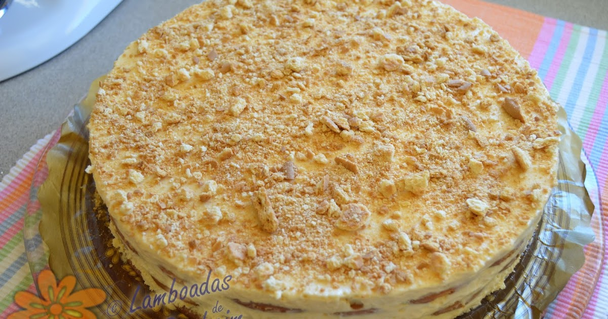 Lamboadas de samhaim tarta de hojaldradas con espuma de limon - Espuma de limon ...