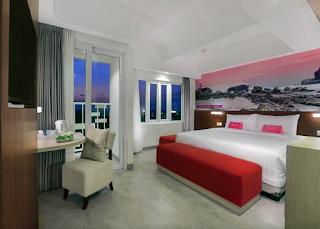 Fasilitas Hotel Fave Cilacap Kamar Deluxe