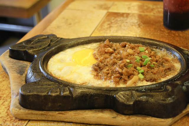 Best Sisig of Buddy's in Quezon Province