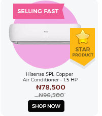Hisense SPL Copper Air conditioner