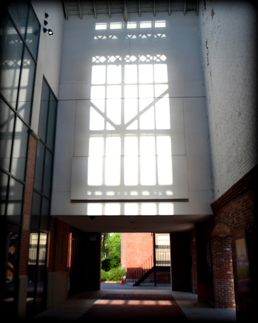 Salem, Armory, Atrium, Salem, Massachusetts, shadows