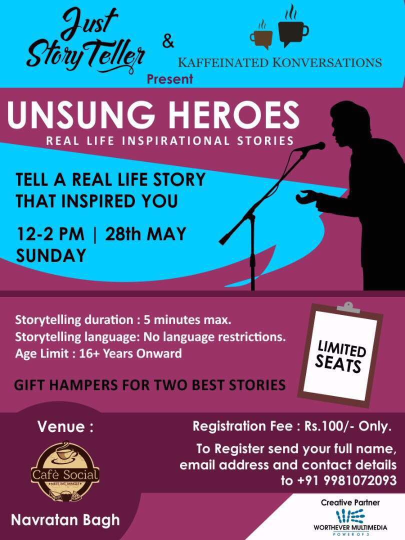 kolorpencil: Unsung Heroes- A StoryTelling Event Celebrating