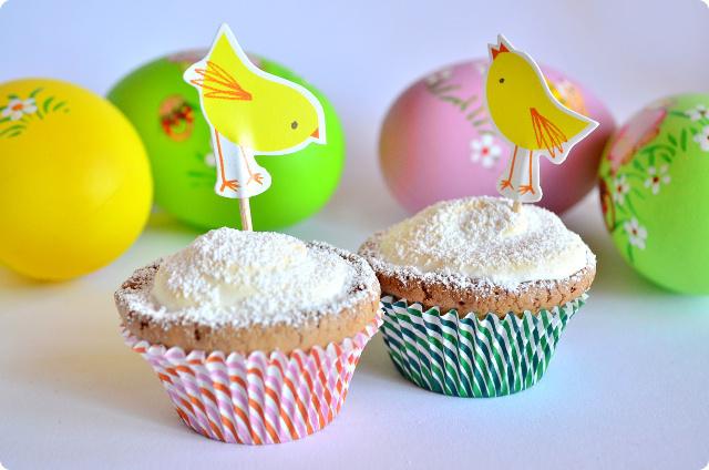 Backrezept für Ostern - Cupcakes in der Eierschale