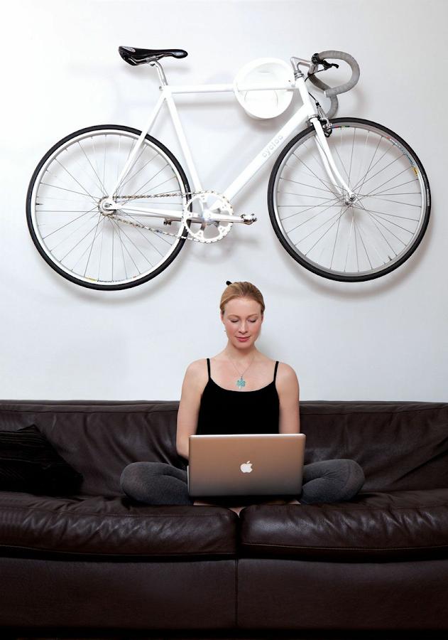 guardar bicicleta en casa