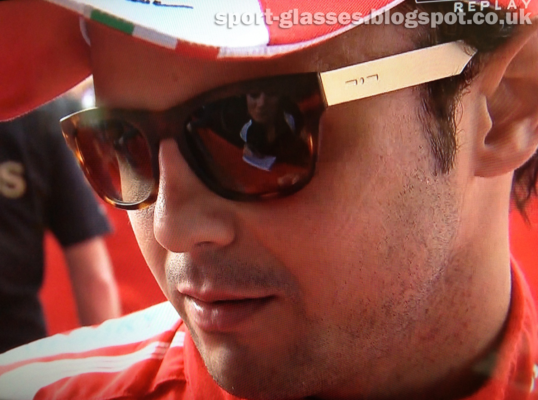 a3b978bf6b Felipe Massa wearing Italia Independent Sunglasses at the Chinese GP 2013
