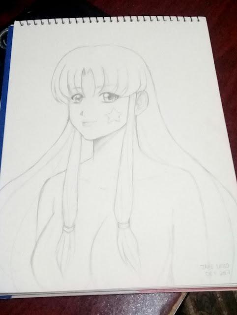 Melody a lápiz