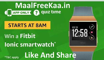fitbit lonic smartwatch
