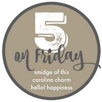 Image result for smidge of this five on friday blog button