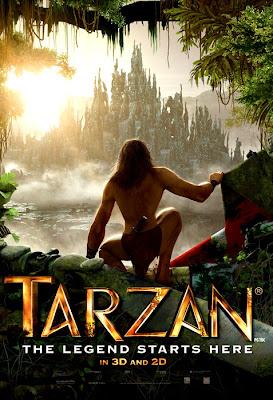 Poster Oficial Tarzan 3D