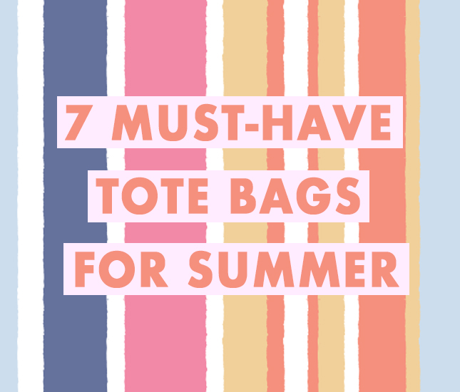 tote bags you need for summer