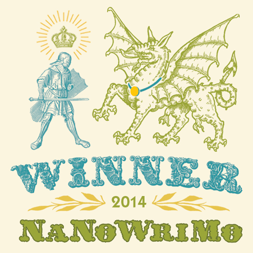 A Winner in NaNoWriMo 2014