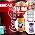 Bebidas: água, refrigerantes e cerveja