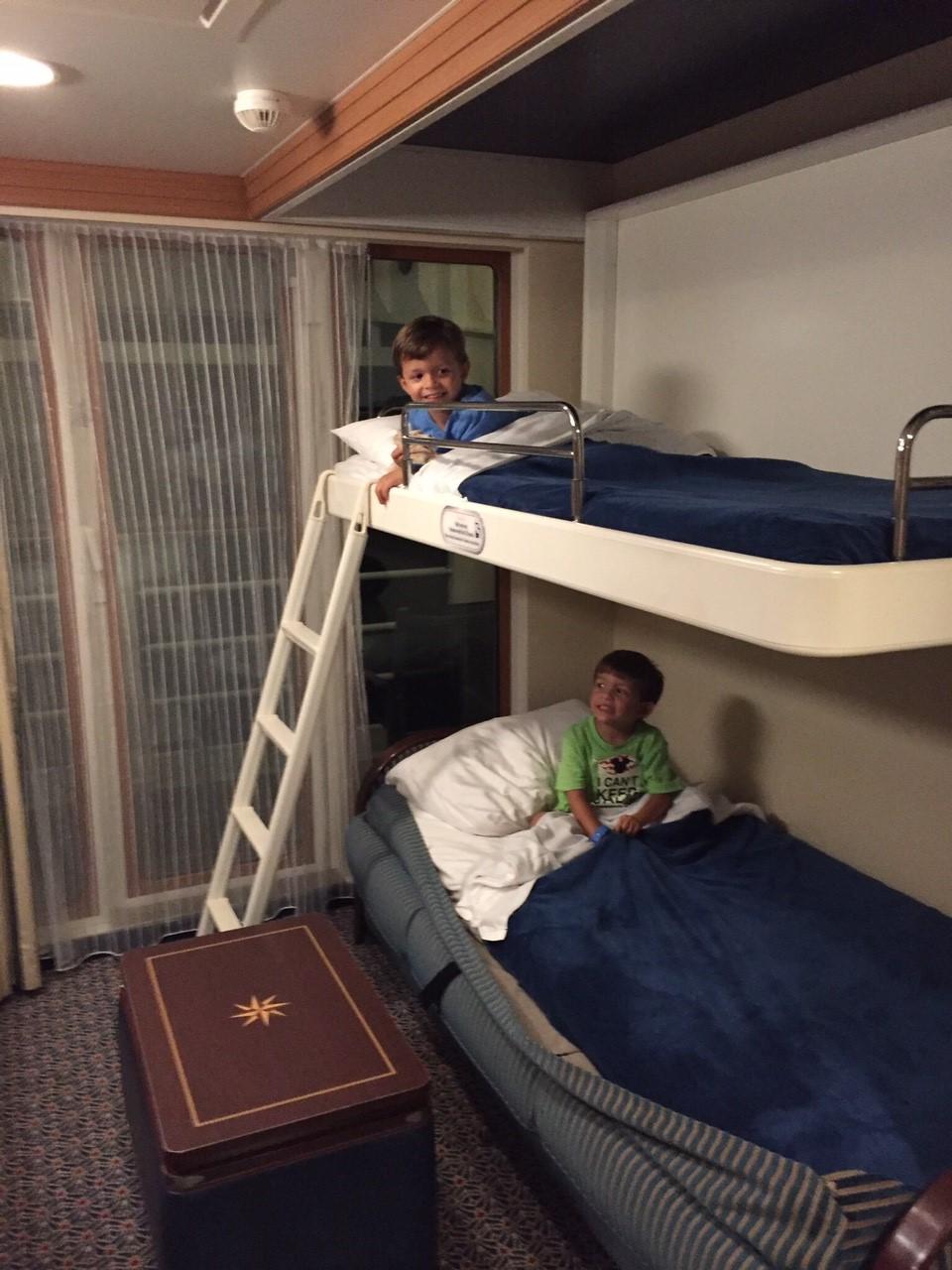 Bunk beds at dreams : When tara met cruising on disney dream with preschoolers