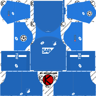 TSG Hoffenheim 2018/19 UCL Kit - Dream League Soccer Kits