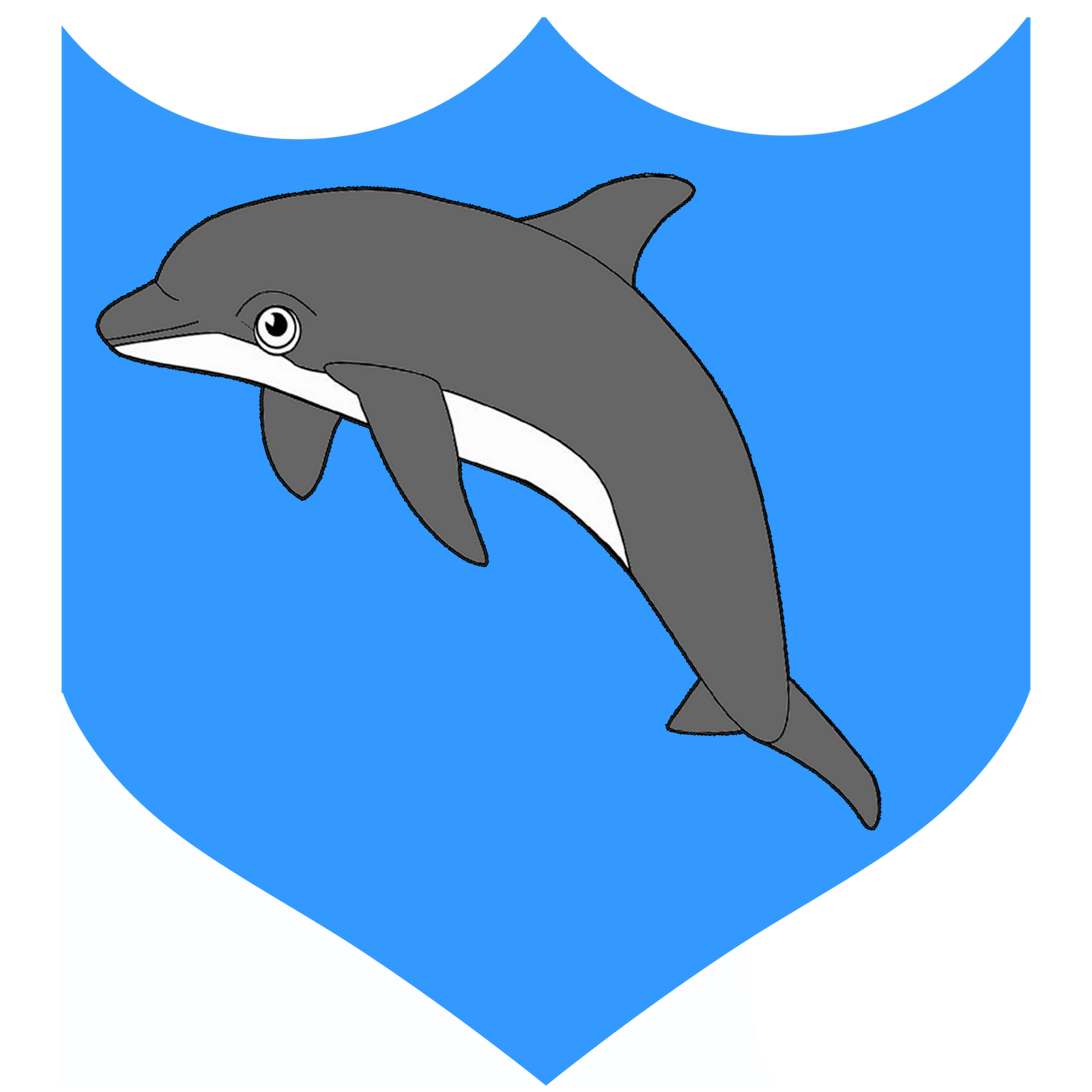 Nadia Art Logo Bsf Dolphin Logo