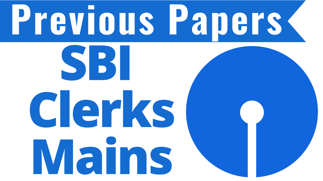 Sbi Clerk Model Question Paper Pdf